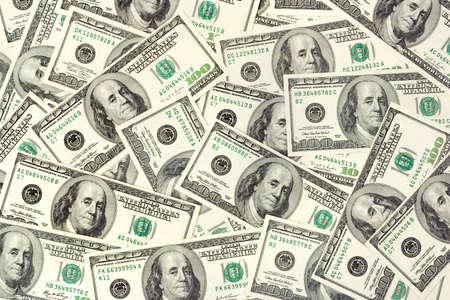 billets euros: Arri�re-plan de dollars - entreprise abstraite argent texture Banque d'images