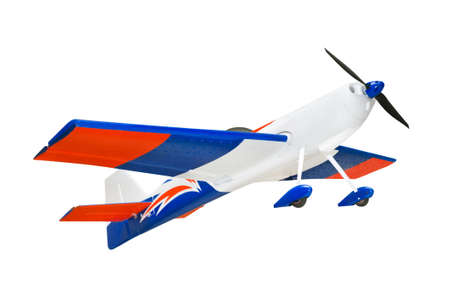 RC plane isolated on white background Stock Photo - 5786480