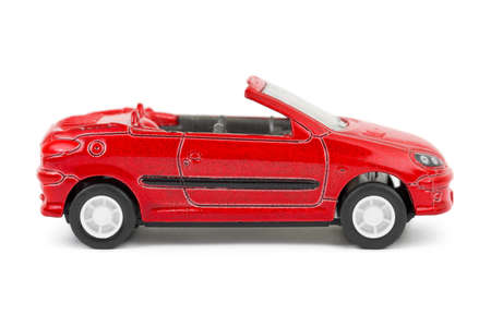 toy car: Toy car isolated on white background