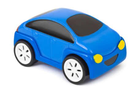 Toy car isolated on white background photo