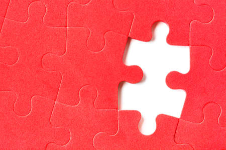 Pieces of puzzle - abstract background photo