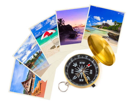Summer beach shots and compass - nature and travel (my photos) photo