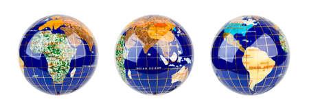 Globe isolated on white background Stock Photo - 7419202