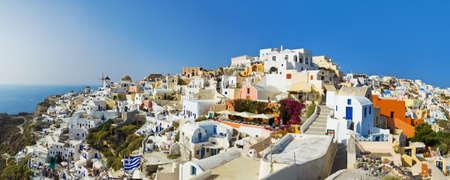 Santorini view (Oia), Greece - vacation background Stock Photo - 8021845