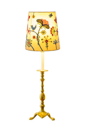 Lighting home lamp isolated on white background Stock Photo - 8450605
