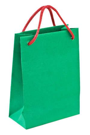 Shopping bag isolated on white background photo