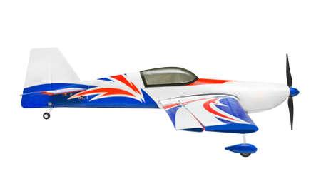 RC plane - isolated on white background photo