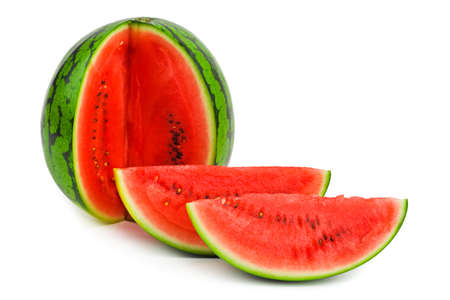 Watermelon - isolated on a white background photo