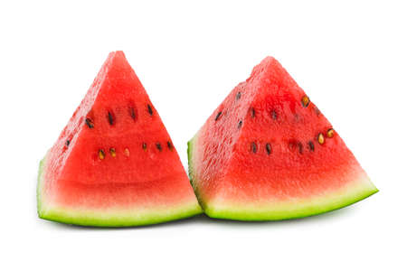 single object: Watermelon isolated on white background