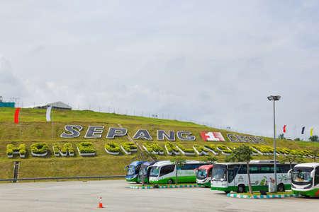 gp: Racing track of Formula 1, GP Malaysia, Sepang, April 10 2011