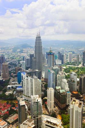 Kuala Lumpur (Malaysia) city view - architecture background Stock Photo - 9359751