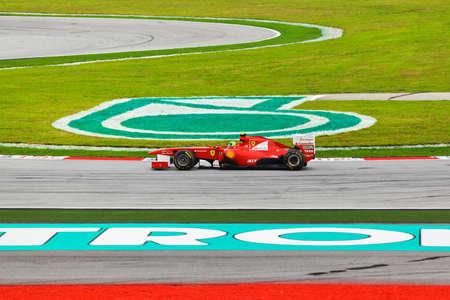 gp: SEPANG, MALAYSIA - APRIL 9: Felipe Massa (team Scuderia Ferrari) at qualification on Formula 1 GP, April 9 2011, Sepang, Malaysia