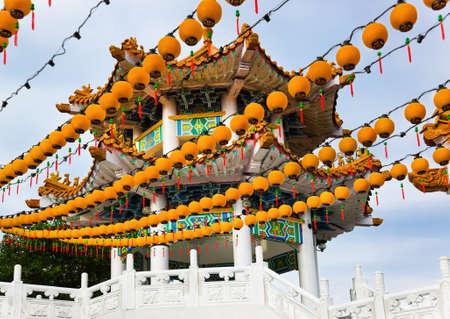 Thean Hou Temple in Kuala Lumpur Malaysia photo