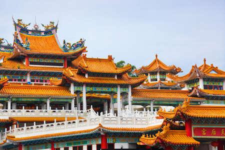 kelet ázsiai kultúra: Thean Hou templom Kuala Lumpur Malajzia