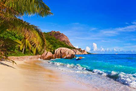 anse: Tropical beach Source D Stock Photo
