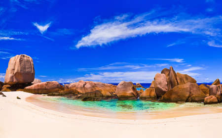 anse: Tropical beach at Seychelles - nature background