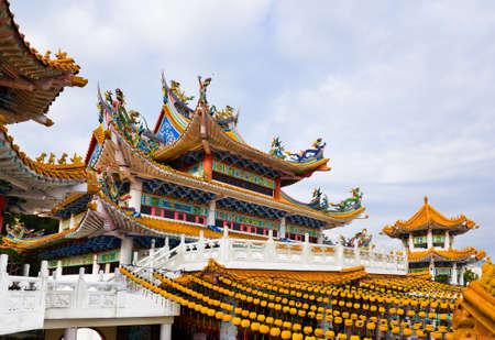 malaysia culture: Thean Hou Temple in Kuala Lumpur Malaysia