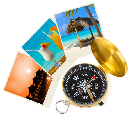 Beach maldives images and compass - nature and travel (my photos) Stock Photo - 11438144