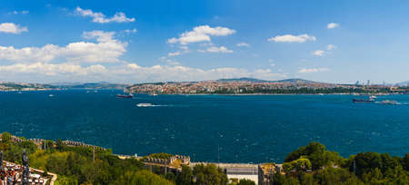 Istanbul Turkey panorama - architecture travel background photo