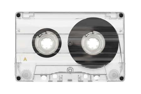 Audio cassette isolated on white background Stock Photo - 11910489