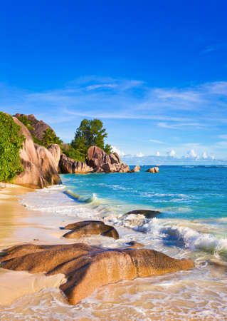 Tropical beach Source D Stock Photo