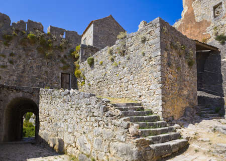 Old fort in Split, Croatia - architecture background photo