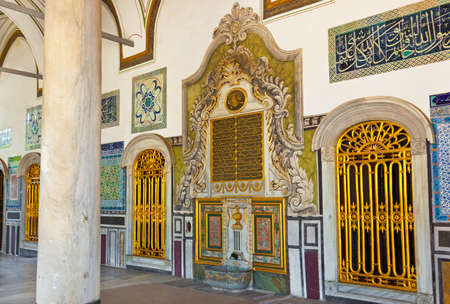 topkapi: Topkapi Palace at Istanbul Turkey - travel architecture background