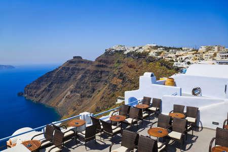 firostefani: Santorini View  Firostefani  - vacation background