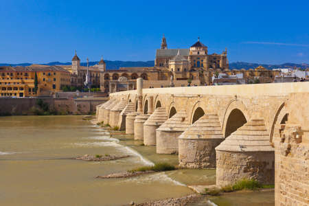 Bridge at Cordoba Spain - nature and architecture background Stock Photo - 13436020