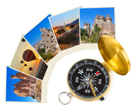 Cappadocia Turkey images and compass - nature and travel  my photos  photo