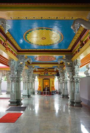 indian animal: Hindu temple at Kuala Lumpur Malaysia - religion symbol