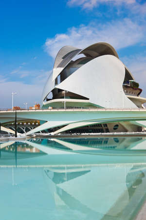 Modern Architecture in the City of Arts and Sciences - Valencia Spain Editorial