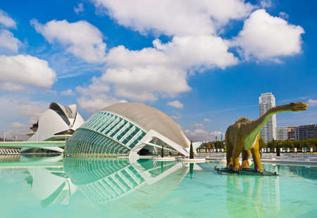 Modern Architecture in the City of Arts and Sciences - Valencia Spain