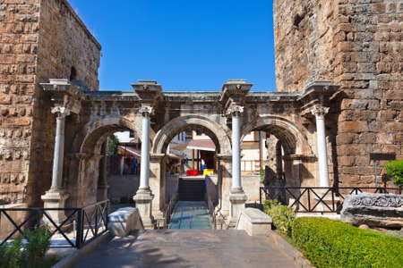 Old town Kaleici in Antalya Turkey - architecture background Stock Photo - 13905482