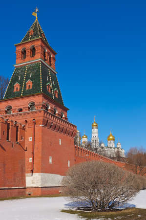 Kremlin in Moscow  Russia  at winter Stock Photo - 15807985
