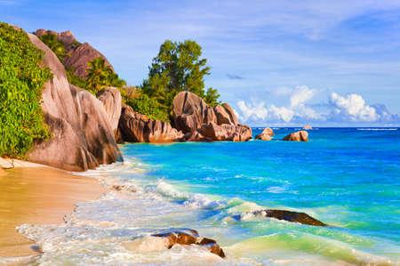 Tropical Playa Fuente D Foto de archivo - 15929474