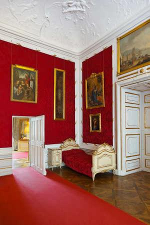 Interior of palace in Salzburg Austria - retro architecture background Stock Photo - 15927514