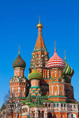vasily: Saint Basil Cathedral on Red square, Moscow  Russia