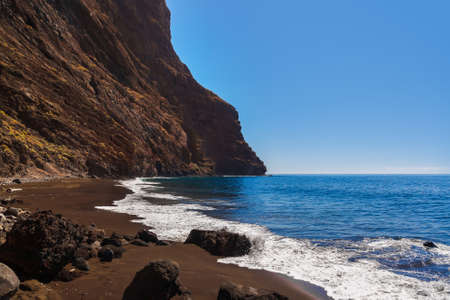 Beach Masca in Tenerife island - Canary Spain photo