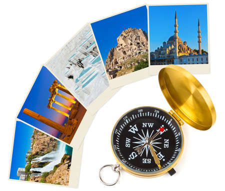 Turkey images and compass - nature and travel  my photos  photo