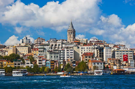 Istanbul view - Turkey travel architecture background
