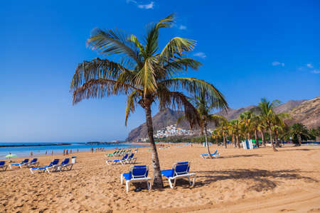 Beach Teresitas in Tenerife - Canary Islands Spain photo