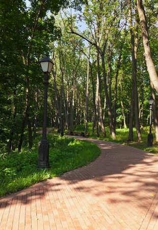 tsaritsino: Tsaritsino park - Russian museum at Moscow Stock Photo