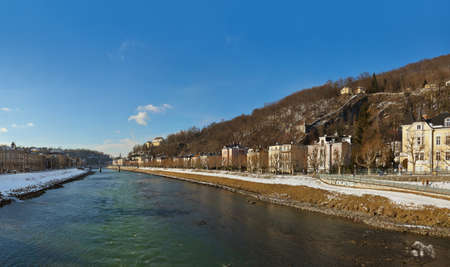 Panorama Salzburg Austria - travel background Stock Photo - 16455916