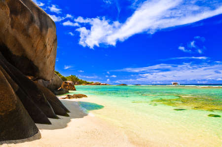 argent: Tropical beach - vacation nature background