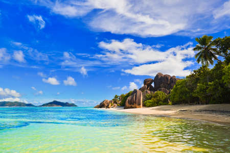 anse: Beach  Stock Photo