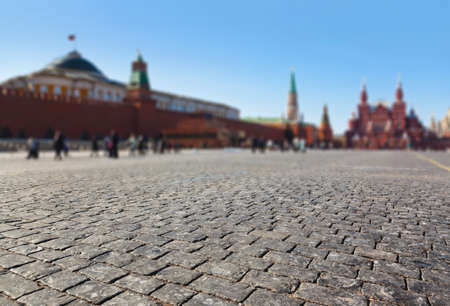 Red square at Kremlin Moscow  Russia Stock Photo - 17313425