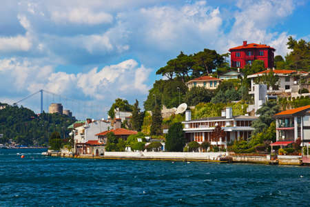 bosporus: Istanbul view - Turkey travel architecture background
