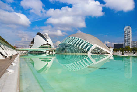 Modern Architecture in the City of Arts and Sciences - Valencia Spain 新聞圖片