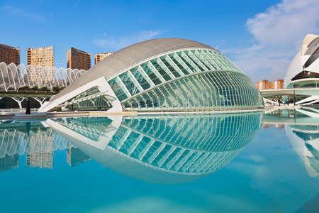 近代建築都市の芸術と科学 - バレンシア、スペイン